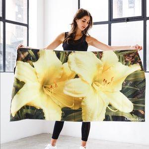 Botanic Design- beach towel & gym towel